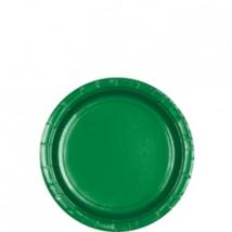 Sötétzöld tányér 18 cm 8 db/cs Ω