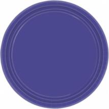 Sötétlila tányér 18 cm 8 db/cs Ω