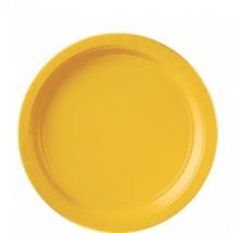 Sárga tányér 23 cm