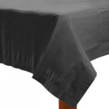 Fekete papír asztalterítő 137 x 274 cm