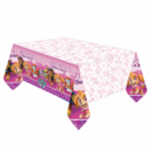 Mancs őrjárat pink asztalterítő 120x180cm