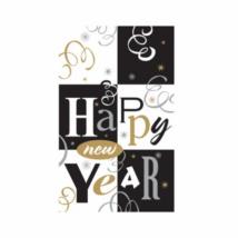Happy New Year műanyag asztalterítő