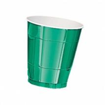 Sötétzöld pohár 250 ml 8 db/cs