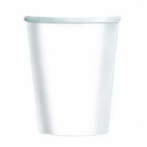 Fehér pohár 250 ml 8 db/cs