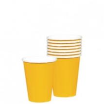 Sárga pohár 250 ml 8 db/cs