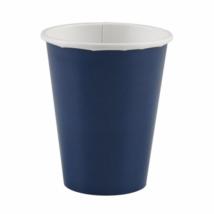 Tengerész kék pohár 250 ml 8 db/cs