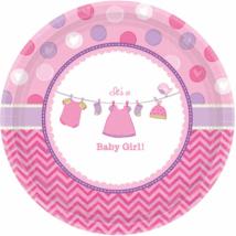 It's a girl rózsaszín tányér 26 cm 8 db/cs