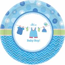 It's a boy kék tányér 26 cm 8 db/cs