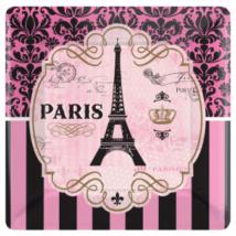 Egy nap Párizsban kocka tányér 25 cm 8 db/cs
