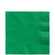 Zöld szalvéta 33 x 33 cm kétrétegű 50 db/cs