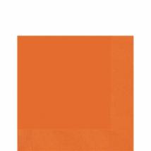 Narancssárga szalvéta 33 x 33 cm kétrétegű 50 db/cs
