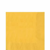 Narancssárga szalvéta 33 x 33 cm, kétrétegű, 50 db/cs