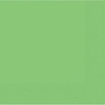 Lime zöld szalvéta 33 x 33 cm kétrétegű 50 db/cs