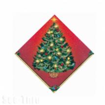 Karácsonyfás szalvéta 33 x 33 cm 16 db/cs ®