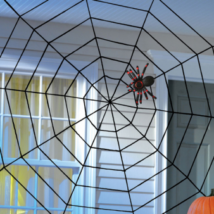 Pókháló dekoráció 150x150cm