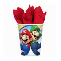 Super Mario pohár 266 ml 8 db/cs