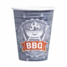 BBQ pohár 250 ml-es 8 db/cs
