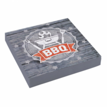BBQ szalvéta 33 x 33 cm 20 db/cs