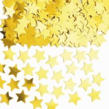 Arany csillag formájú konfetti 14 g