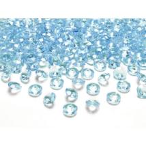 Gyémánt alakú világoskék dekorációs kavics 100 db/cs