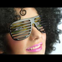 Fekete csíkos szemüveg