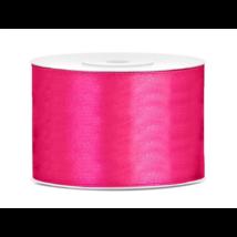 Szatén szalag sötét pink, 50 mmx25m
