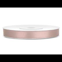Beige-pink szatén szalag 6 mm x 25 m
