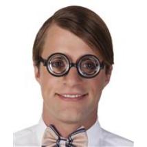 Tudálékos szemüveg