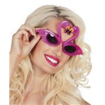 Flamingós szemüveg