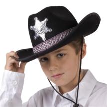Fekete Sheriff kalap gyerekeknek
