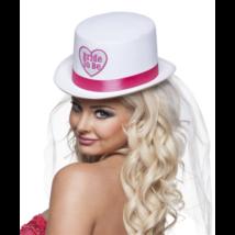 Bride to be kalap fátyollal