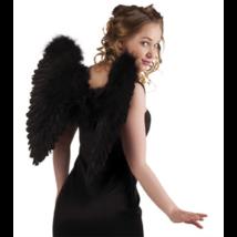 Fekete angyal szárny 50 x 50 cm