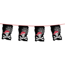 Kalóz zászló 23 x 35 cm, 10 m