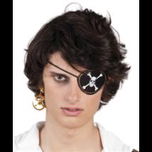 Kalóz szemmaszk fülbevalóval