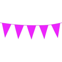 Óriás pink műanyag zászló 46 x 30 cm 10 m