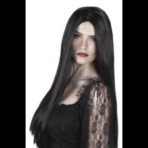 Fekete hosszú boszorkány paróka