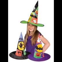 Halloween boszi kalap gyerekeknek