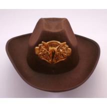 Barna férfi cowboy kalap