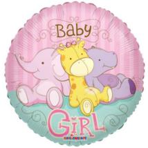 45 cm-es Baby Girl dzsungeles fólia lufi