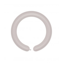 Modellező gumi lufi prl ezüst D4 100db/cs