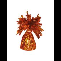 Narancs színű fóliás lufisúly