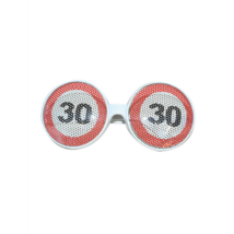 Behajtani tilos szemüveg 30. születésnapra