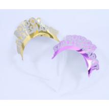 Glitteres Boldog Születésnapot tiara 4 db/cs