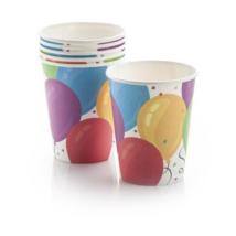Lufis papír pohár 250 ml 6 db/cs