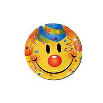 Smiley tányér 23 cm 6 db/cs