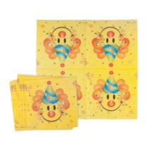 Smiley szalvéta 33 x 33 cm 12 db/cs