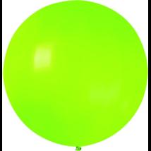 160 cm-es limezöld gumi lufi