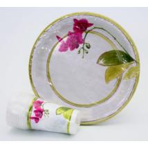 Orchideás pohár 200 ml 10 db/cs ®