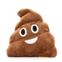 Kaki Emoji párna