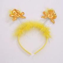 Sárga angyalos hajpánt